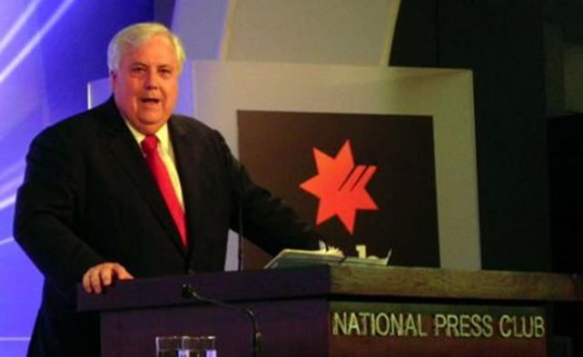 Clive Palmer, Leader, Palmer United Party