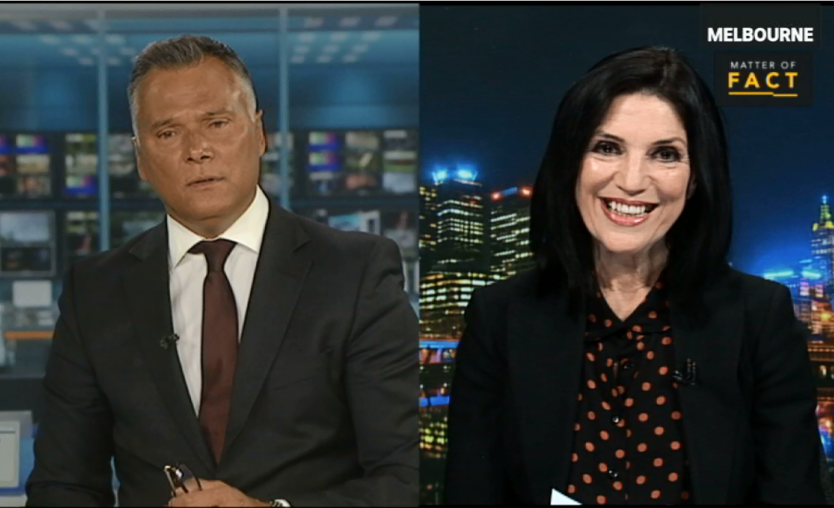 Roy Morgan CEO Michele Levine interview with Stan Grant of ABC TV's Matter of Fact