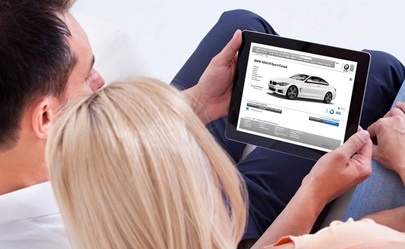 Intending new car buyers search the internet