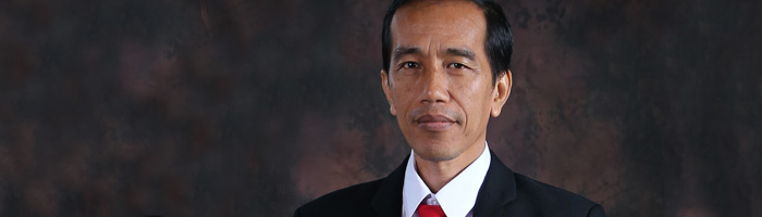 Newly Inaugurated Indonesian President Jokowi