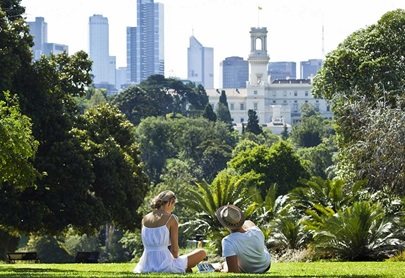 Movement at Melbourne's Botanic Gardens back to normal levels – led by Metrotechs