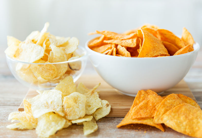 Potato chips and corn chips the snack foods of choice for parents during lockdown