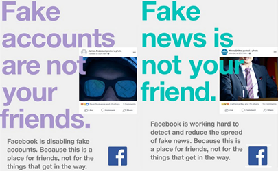 Facebook campaign surrounding online privacy