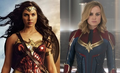 Wonder Woman & Captain Marvel