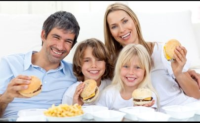 hamburger-family